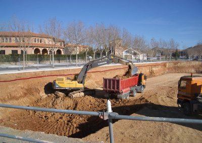 Excavación de Urbanización en la Fuenfresca