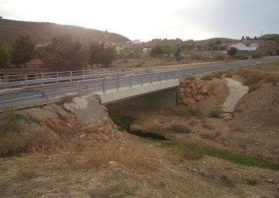 Puente Ctra. de Obón a Cortes de Aragón por Josa