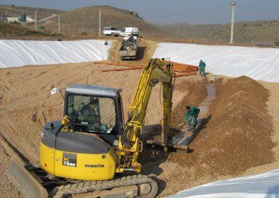 Ampliación vaso de vertido para el vertedero de Teruel